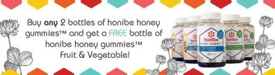 honibe honey vitamins giveaway on Life, Love and the Pursuit of Play