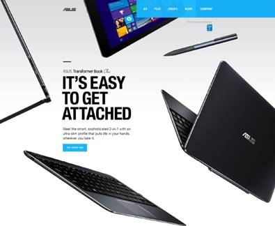 ASUS t300 Chi it's easy to get attached