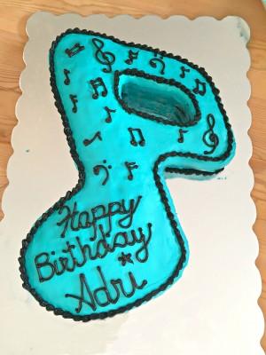 Cake Decorating - Pop Star Themed Birthday Party