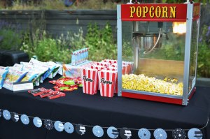 Movie Themed Birthday Party Concession Stand