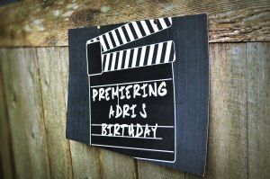 Movie Themed Birthday Posted from Minted