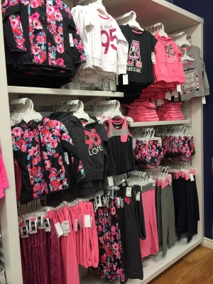 Carter's OshKosh B'Gosh Back to School Collection In-Store 2