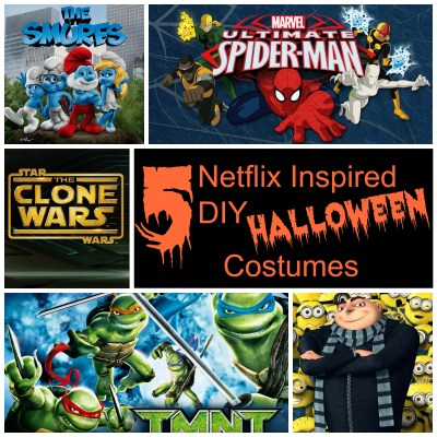 Netflix Inspired DIY Halloween Costumes