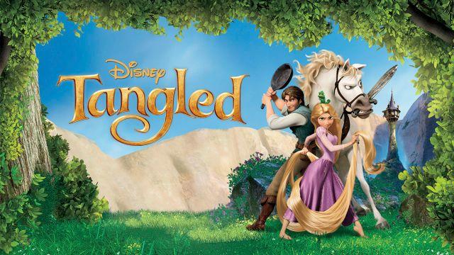Disney's tangled on Netflix