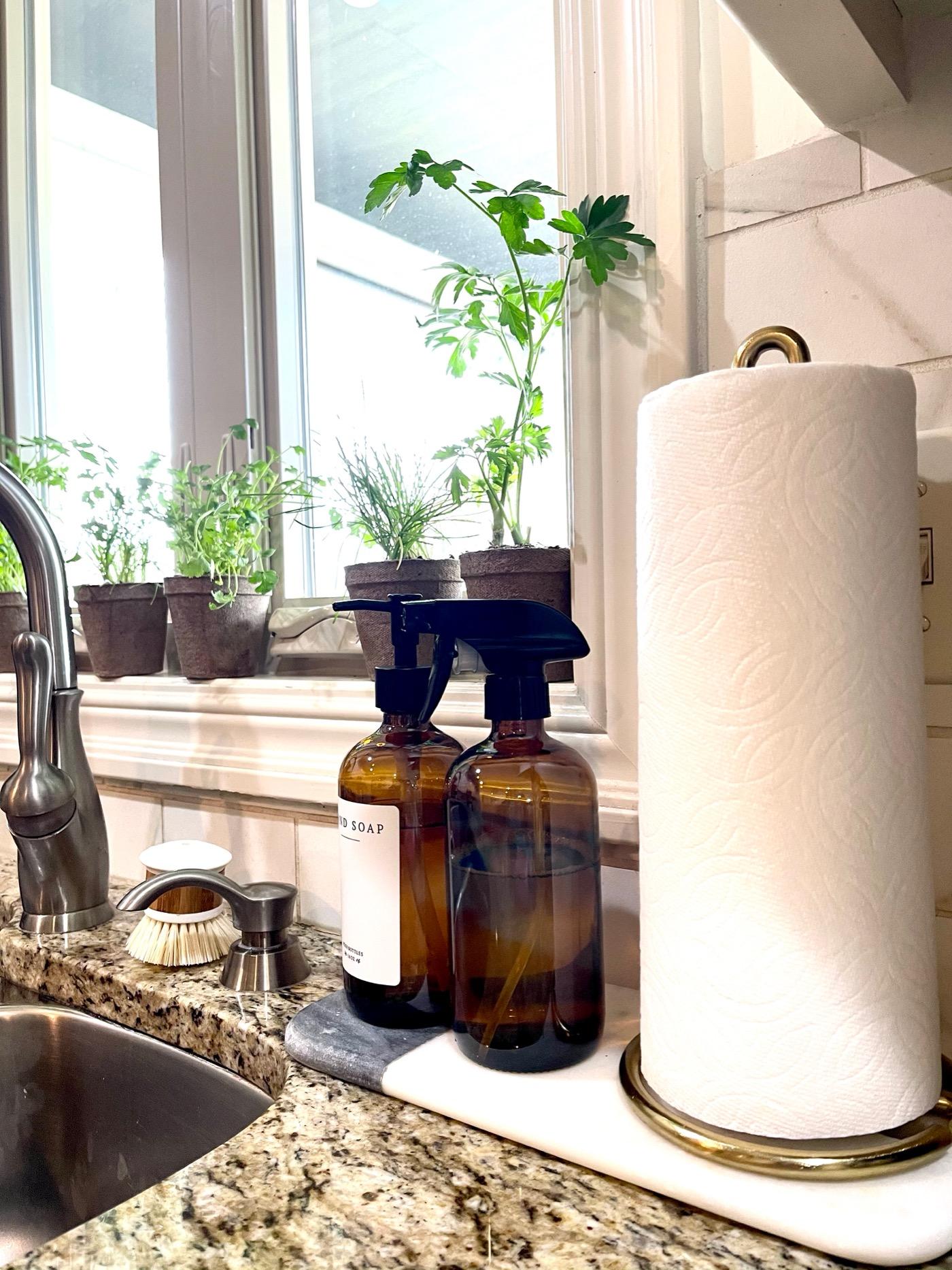 kitchen sink decor life love larson