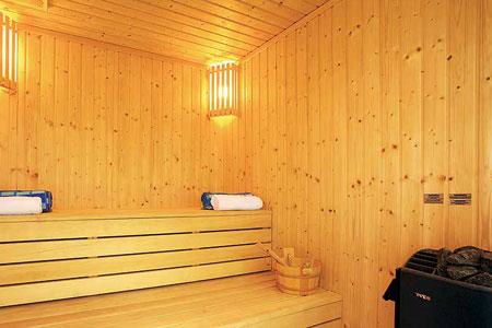 Sauna at Monte Mare