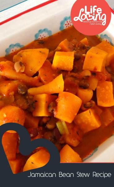 Jamaican Bean Stew by Life Loving