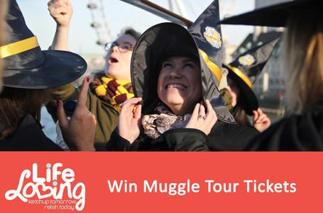 Win Muggle Tour Tickets