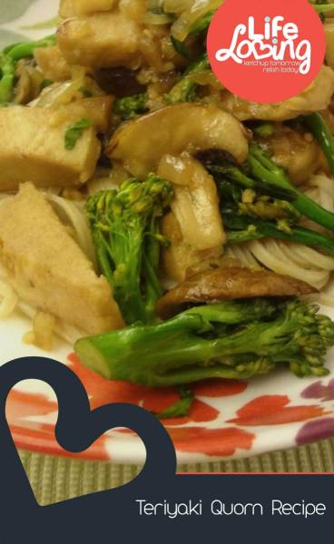 Teriyaki Quorn Recipe on Life Loving Blog