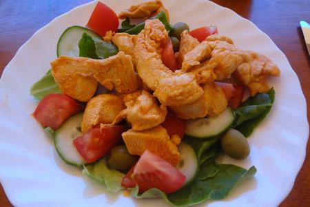 Piri Piri Chicken Salad Recipe