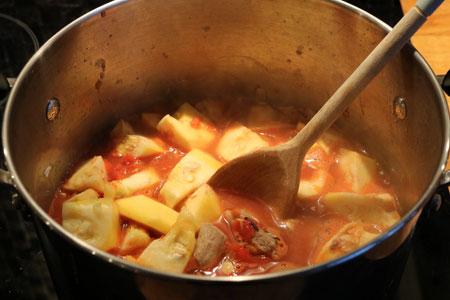 Pumpkin and Lamb Stew Recipe