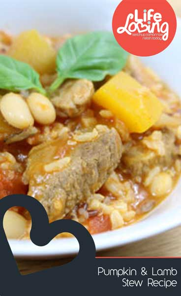 Pumpkin and Lamb Stew Recipe by Life Loving