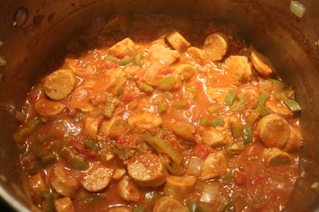 Sausage Curry