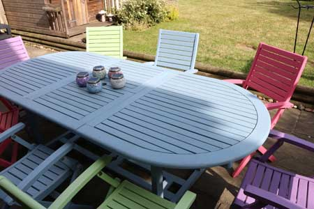 How To Upcycle Garden Furniture