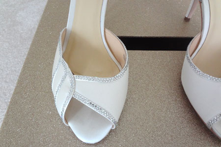 Make Your Own Wedding Shoes