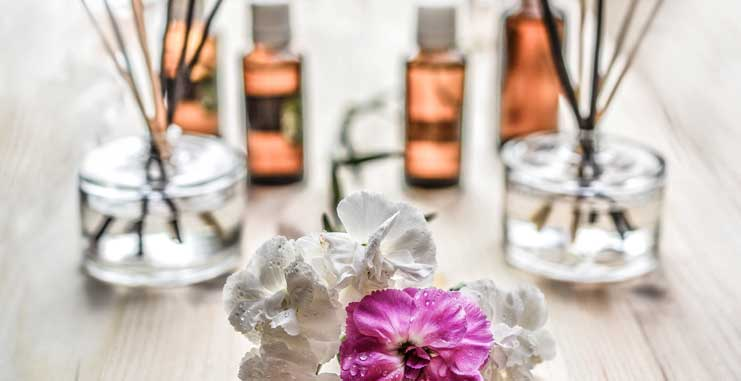 Create a Mood in Your Home Using Scent