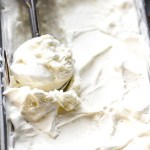 Low Carb Vanilla Ice Cream - a delicious sugar-free recipe perfect when you have that craving for your favorite frozen treat. Best of all, this keto-friendly recipe is easy to make with or without an cream maker.