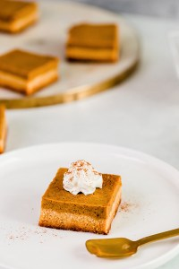 Keto Pumpkin Bars