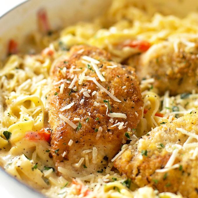 Tuscan Garlic Chicken Olive Garden Copycat Life Made Simple