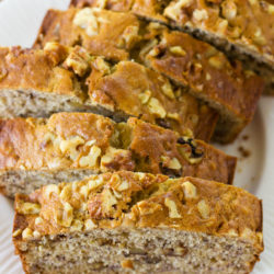 Mom's Buttermilk Banana Bread