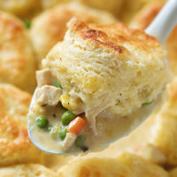 Rustic Chicken and Vegetable Cobbler