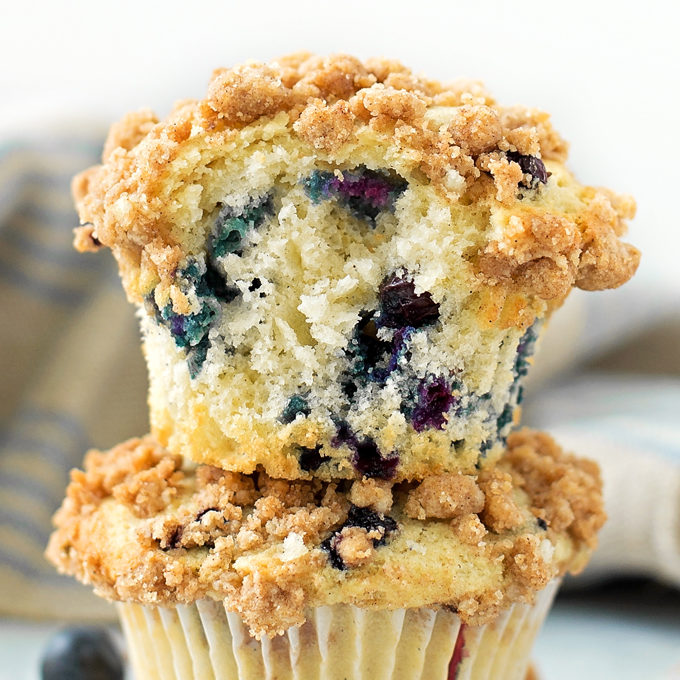 Blueberry Crumble Muffins Life Made Simple