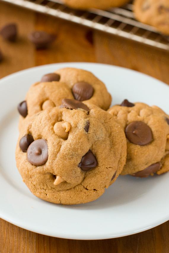 Flourless Peanut Butter Cookies 3