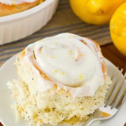 Lemon Poppy Seed Sweet Rolls 1