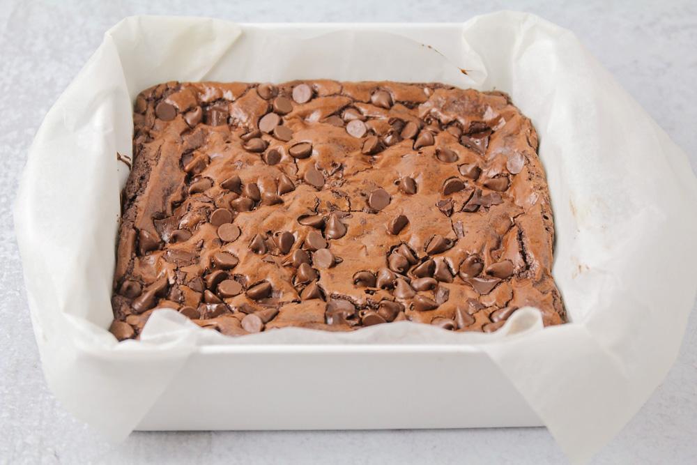 Homemade brownie recipe