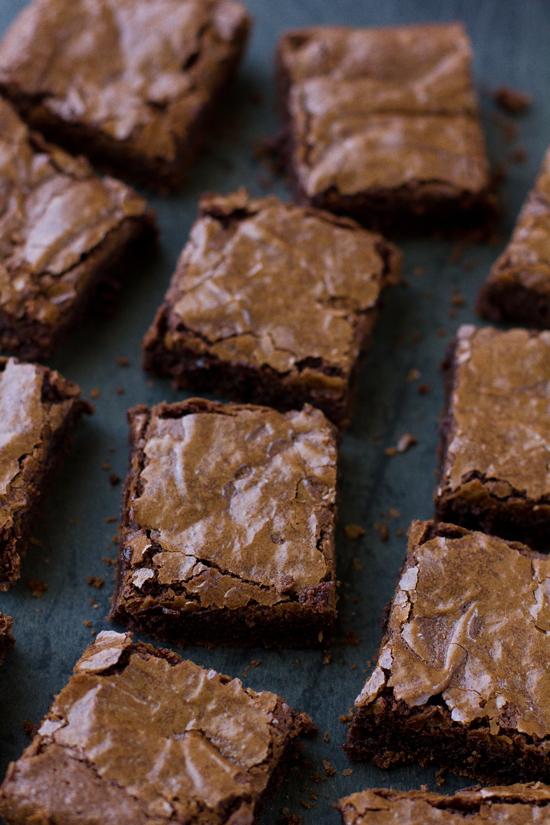 Rich Fudgy Flourless Brownies