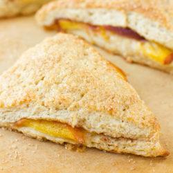 Peaches and Cream Biscones