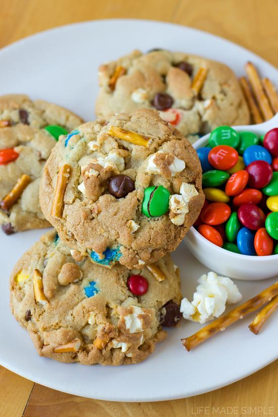 Movie Night Chocolate Chip Cookies