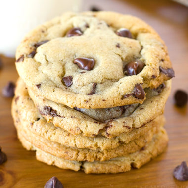 The Best Bakery Style Chocolate Chip Cookies