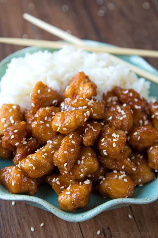Better Than Takeout Sesame Chicken