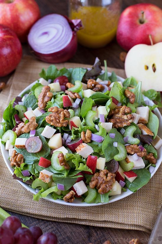 Chicken Apple Walnut Salad