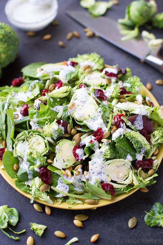 Sweet Kale Superfood Salad