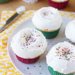 Cupcakes de vainilla clásicos