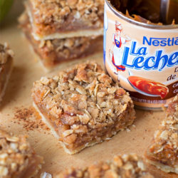Dulce De Leche Apple Pie Bars