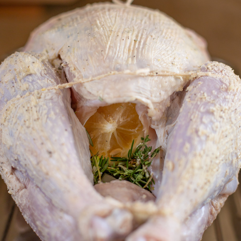 How to make oven roasted turkey process pic