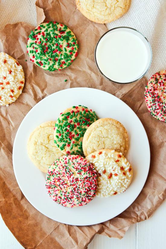 Simple Dropped Sugar Cookies