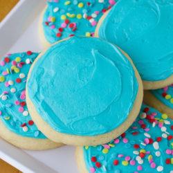 Lofthouse Style Jumbo Sugar Cookies