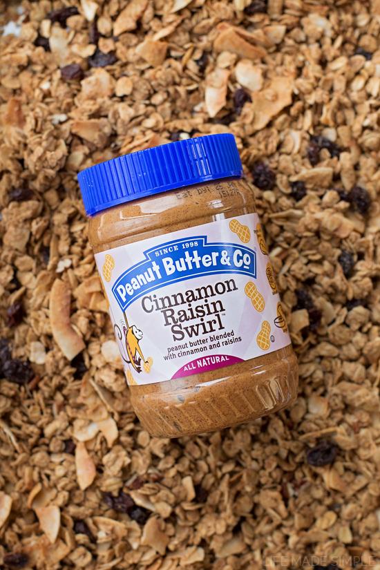 Oatmeal Cookie Granola