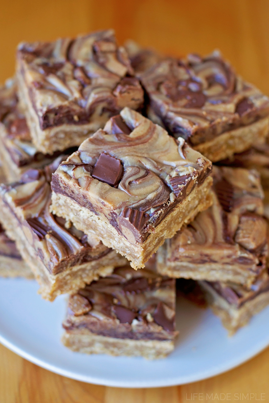 Reese's Peanut Butter Oatmeal Bars