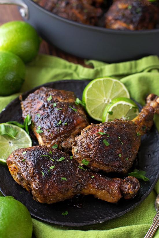 Easy Oven Baked Jerk Chicken