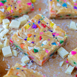 Funfetti Birthday Cake Blondies