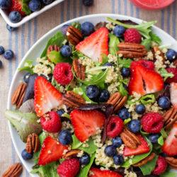 Berry Pecan Quinoa Salad