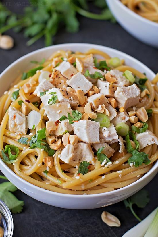 Sesame Soy Noodle Bowls