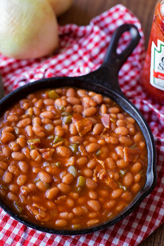 Mom's Oven Baked Beans