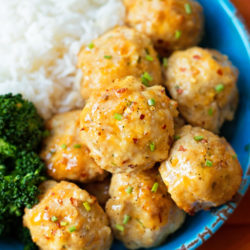 Orange Chicken Meatballs
