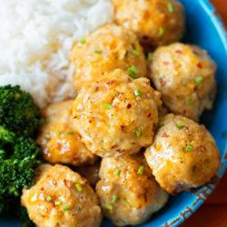 Orange Chicken Meatballs